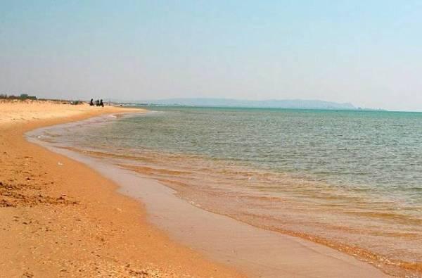 Пляжи Благовещенская Витязево Тортуга закрыта Фото