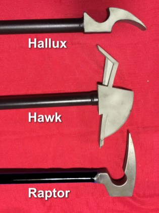 NOTE: The Hallux pictured in this photo is a prototype; see the accompanying photo of the production piece to compare the subtle differences.