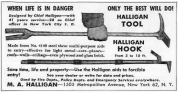 MW Halligan Hook & Bar Ad