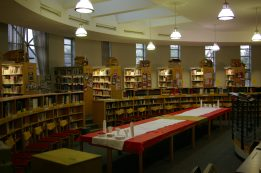 The Library ready to receive guests