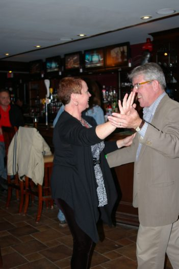 Dancing up a storm at The Grover