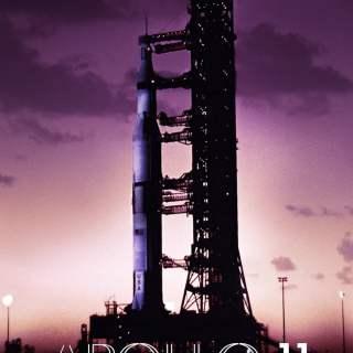 "Poster for the movie ""Apollo 11"""