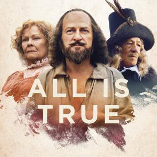 "Poster for the movie ""All Is True"""