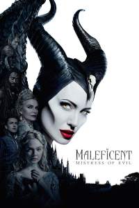 "Poster for the movie ""Maleficent: Mistress of Evil"""