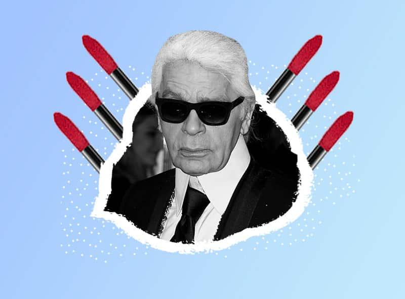 colección de maquillaje de Karl Lagerfeld