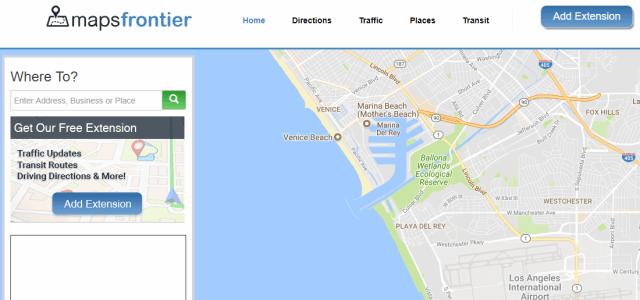 "Get Rid of Maps Frontier ""Virus"" Ads"