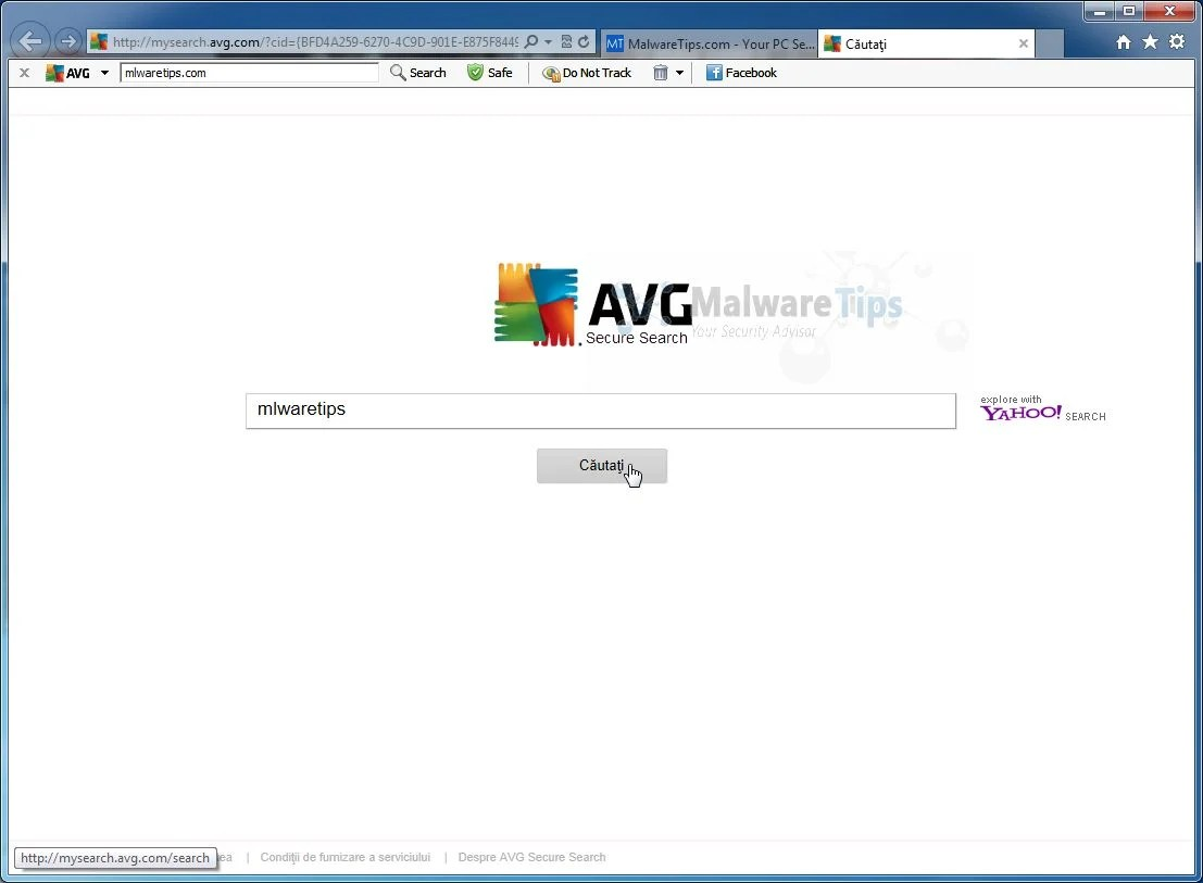 "Remove ""AVG Secure Search"" Redirect (Virus Removal Guide"