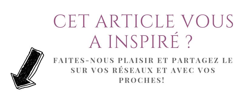 CET ARTICLE VOUS A INSPIRÉ _