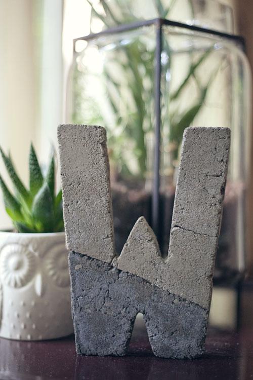 DIY_concrete_letter6
