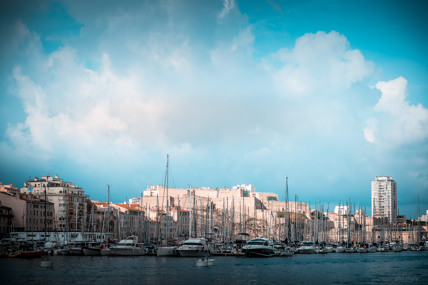 Harbour of Marseille