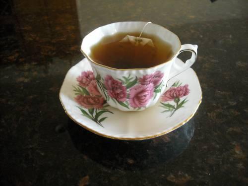 Красивая картинка Пакетик чая на рабочий стол, красивые ...