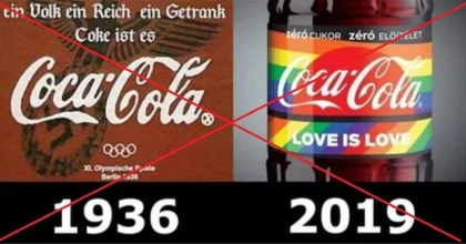 HOAX: Nacistická reklama naCoca-Colu