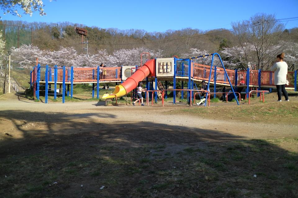 阿須運動公園の遊具