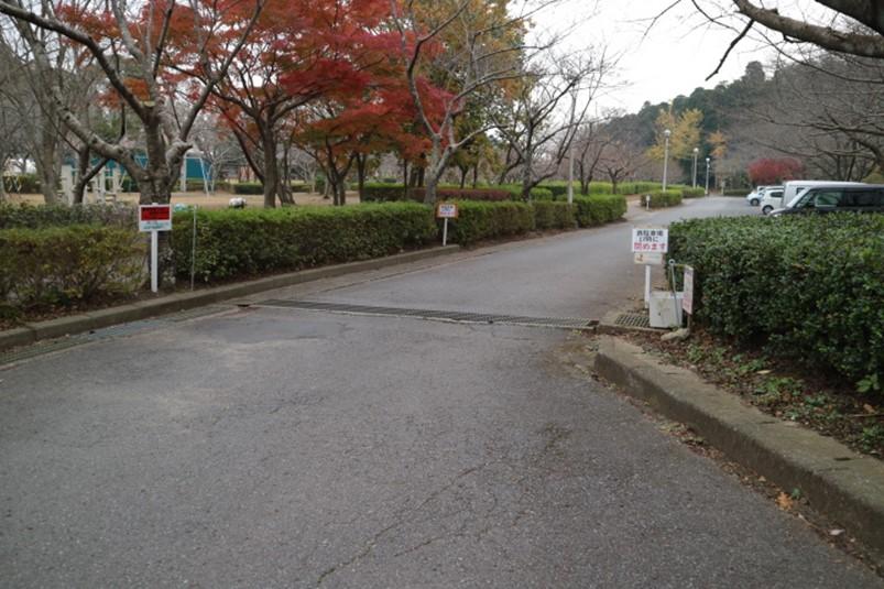 千葉県袖ケ浦市袖ケ浦公園の西駐車場(第3駐車場)