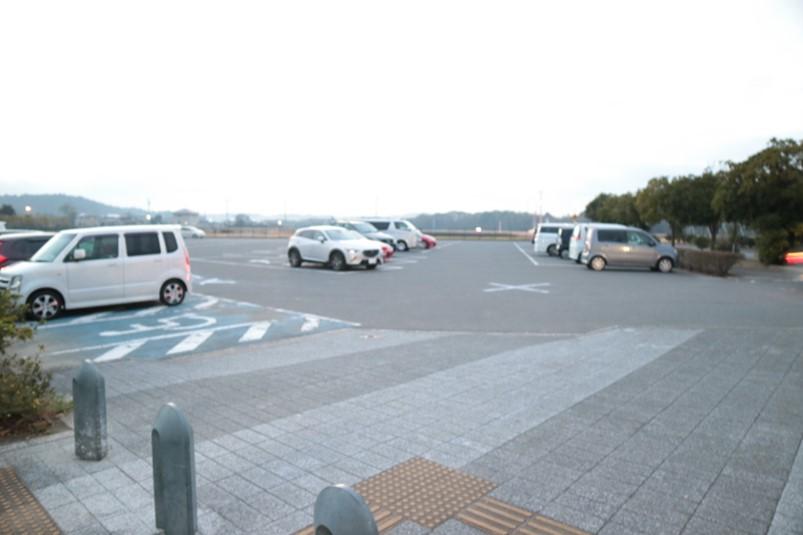 百目木公園の第2駐車場