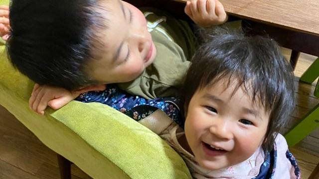 ワンオペ4歳2歳の二人育児中の私が思う2歳差育児のメリットや良かった点。