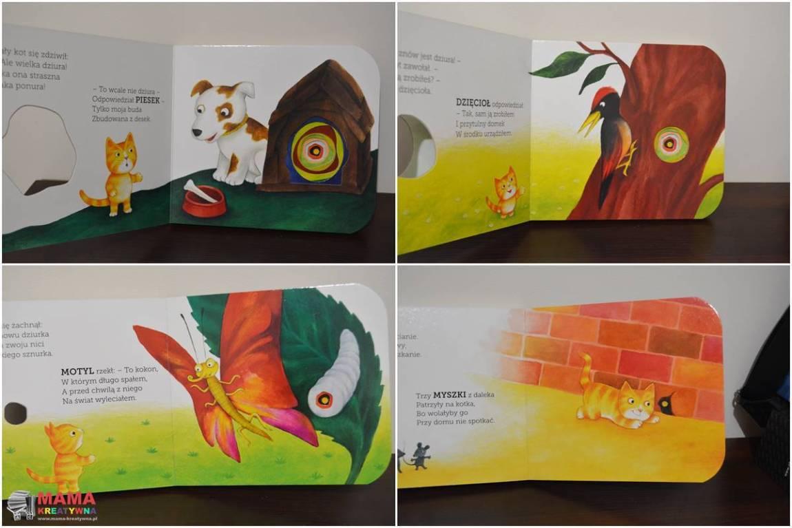 książka ciekawski kotek