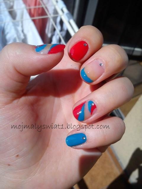zdobienie naturalnych paznokci