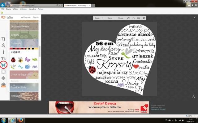 personalizowane serce