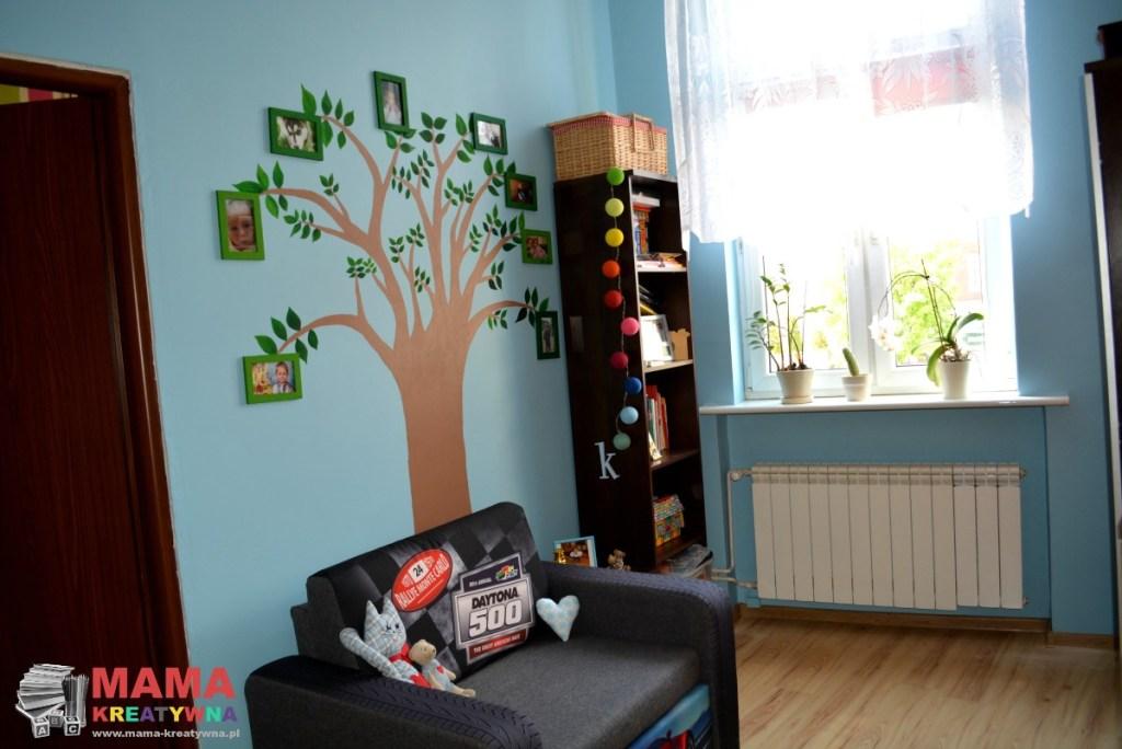 Unikalne Sypialnia z kącikiem dla dziecka - Mama Kreatywna DE06
