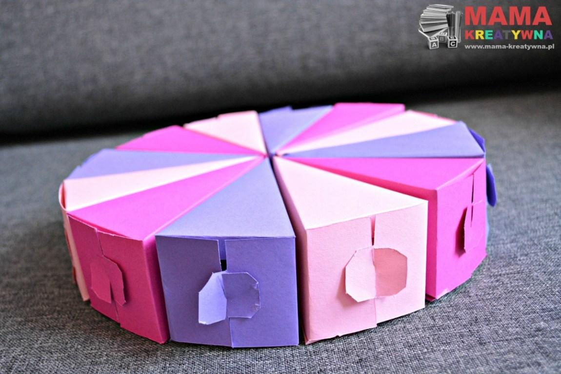 ozdobne pudełko z papieru