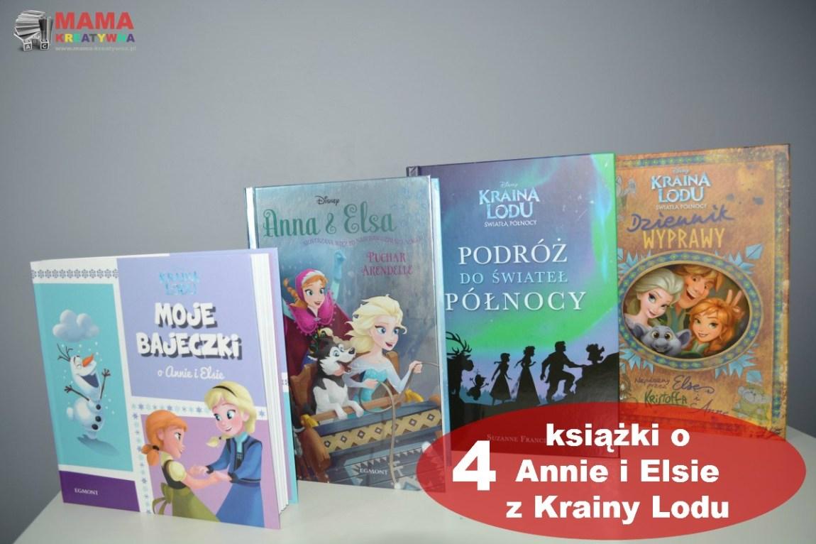 4 Książki o Annie i Elsie z Krainy Lodu