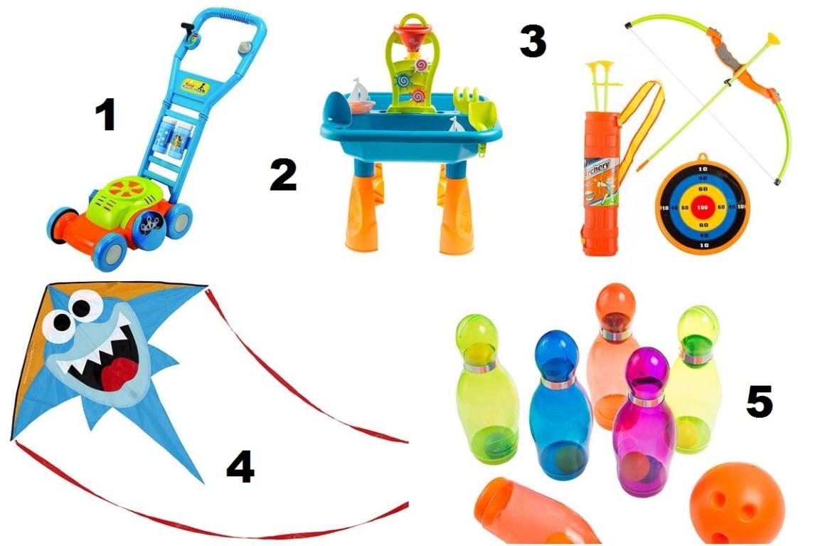 zabawki na lato