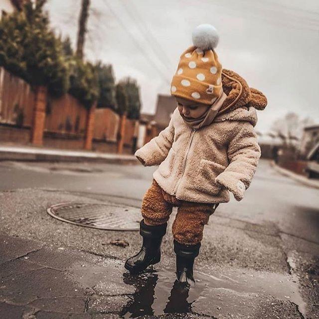 Ciepłe kalosze dla dzieci