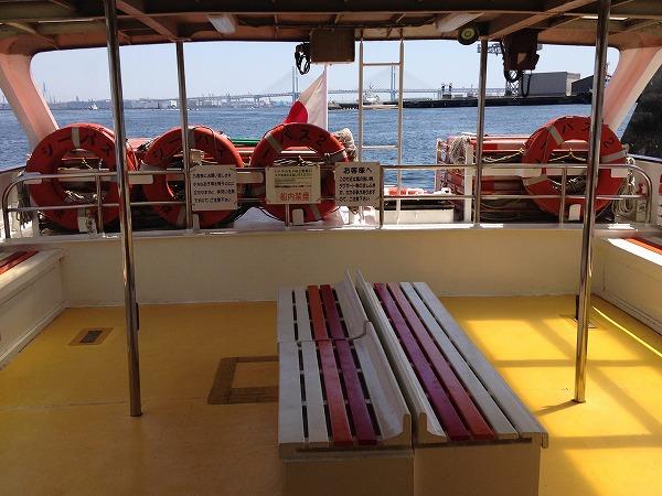 観光船シーバスデッキ