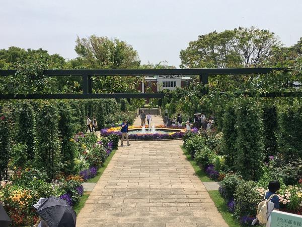 港の見える丘公園香りの庭現在