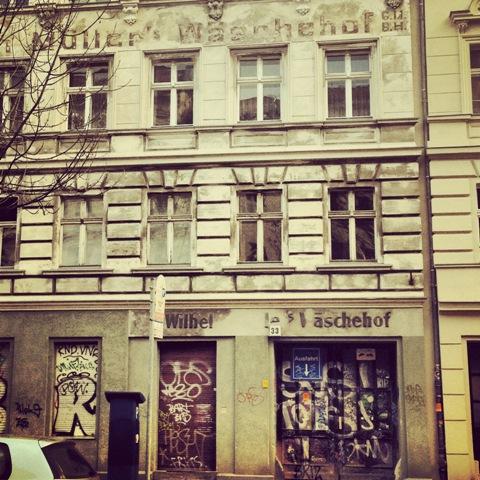 Berliner Fassaden - Wäschehof im Prenzlauer Berg - 12 von 12
