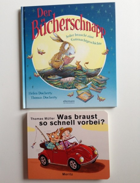 """""""Der Bücherscnapp"""" und """"Was braust so schnell vorbei"""" Indiebookday Kinderbücher"""