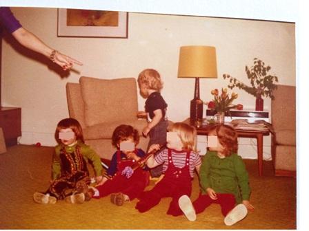 Spielgruppe 70er Jahre - kein Rosa - Mama notes