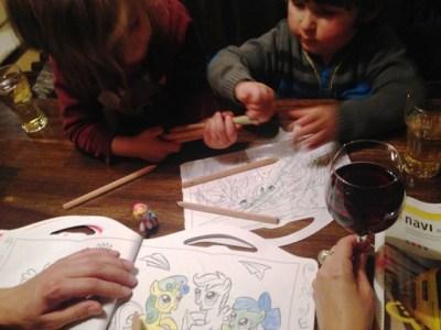 Das Filly-Pony-Malbuch beschäftigt die ganze Familie - Berlin mit Kindern