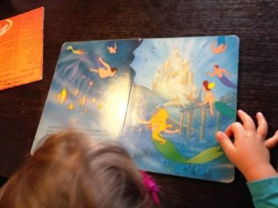 Arielle, die kleine Meerjungfrau, lesen