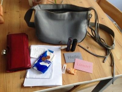 Inhalt meiner Mütter-Handtasche - Eltern und ihre Handtaschen - Mama notes