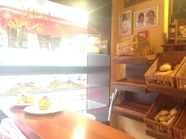 Kaffee Bar auf der Schanze beim Portugiesen