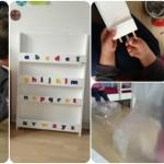 Im Geschwister-Kinderzimmer Ordnung schaffen mit neuem Bücherregal