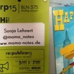 Meine re:publica 2015 (inklusive Blogfamilia und Blomm)