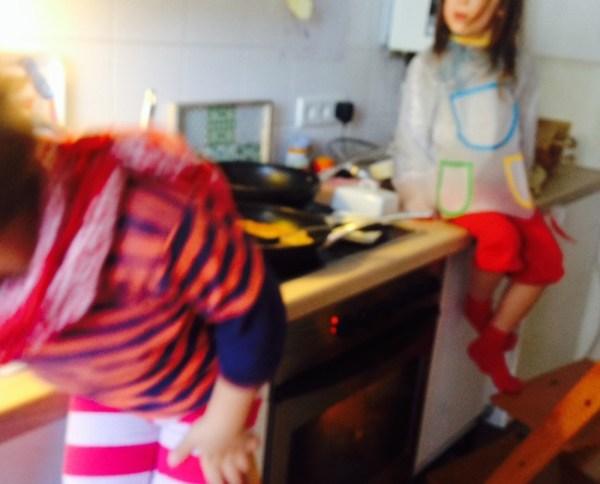 Sonntagsmorgens in meiner Küche
