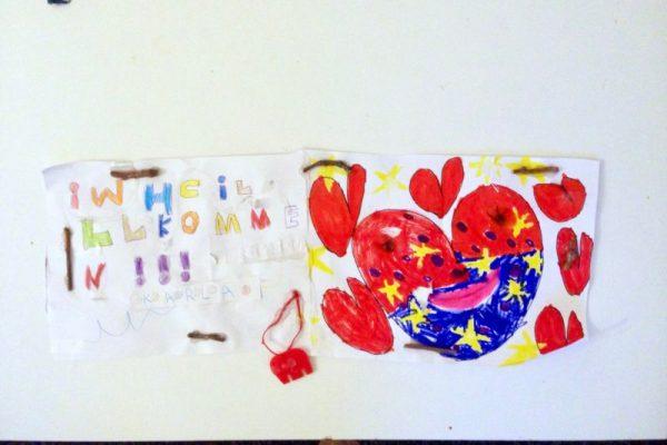Kinderkunst - Herzlich Willkommen