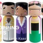 Kokeshi Rapsody: Lucie Kaas Holzfiguren #ShoppingTipp