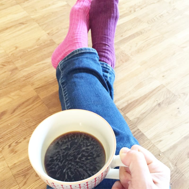 Schwarzer Kaffee - schwarzer Tag