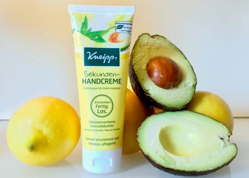 Kneipp Sekunden-Handcreme im Test mit Avocadobutter Zitronenverbene _ Familienblog Mama notes