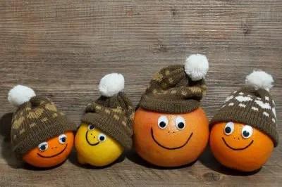 スマイルフェイスのオレンジ