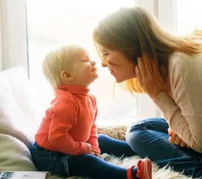 赤ちゃんとママのコミュニケーション