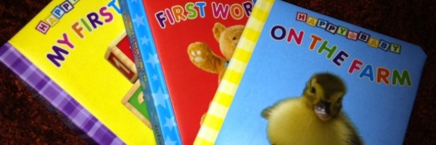 Book Review: Happy Baby board books