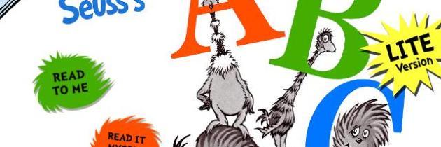 Dr. Seuss' ABC on the iPad