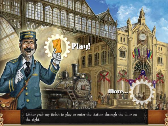 Ticket to Ride: Home Screen
