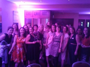 The Irish Parenting Bloggers at the Blog Awards